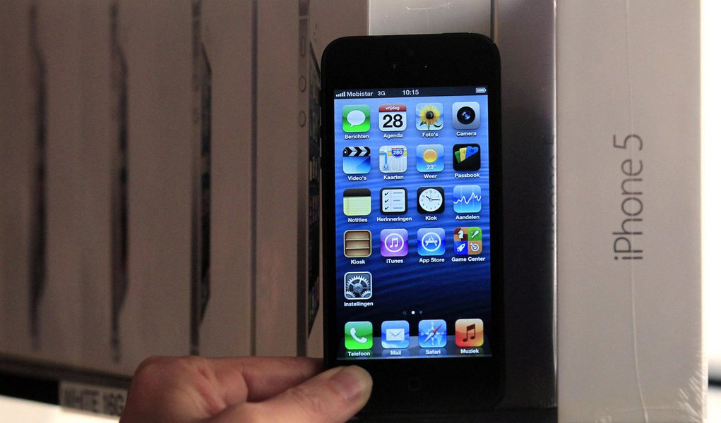 Receita da Apple fica abaixo de expectativas