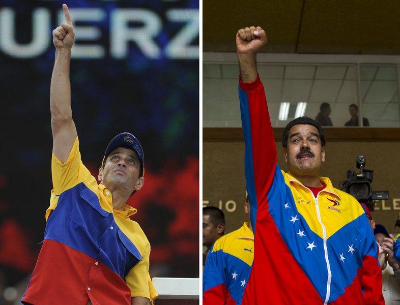 Cai a vantagem de Maduro sobre Capriles