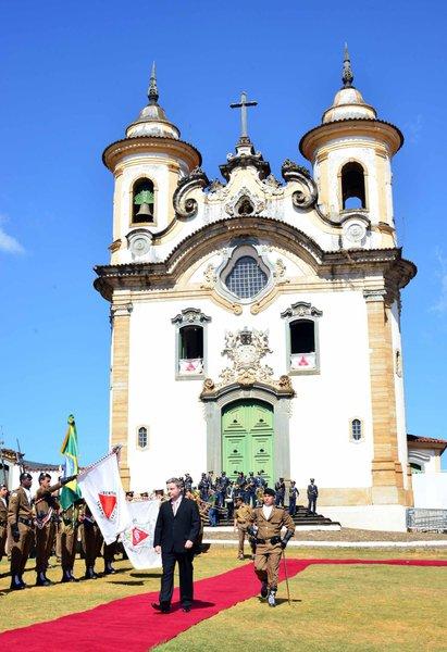 No Dia de Minas, Mariana vira capital simbólica