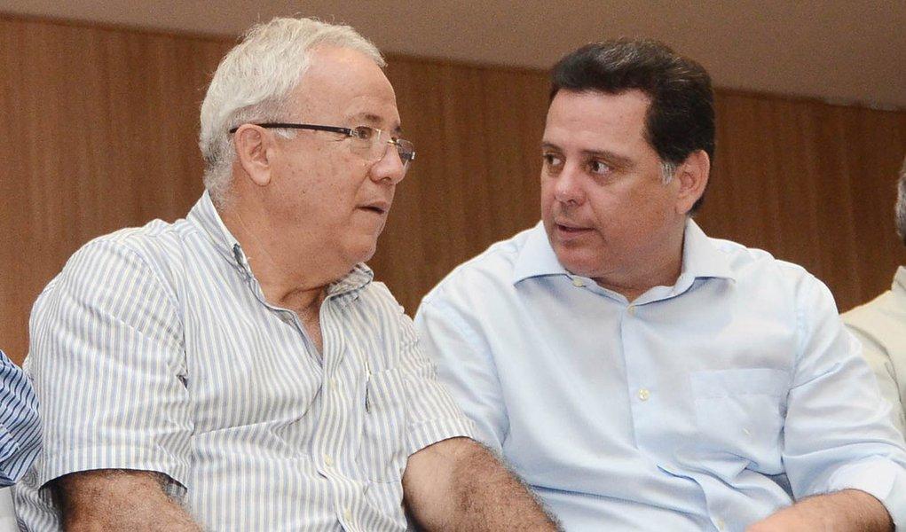 Governador / Prêmio Aluno em Goianésia. Na foto governador Marconi Perillo, Jalles Fontoura.Fotos Rodrigo Cabral