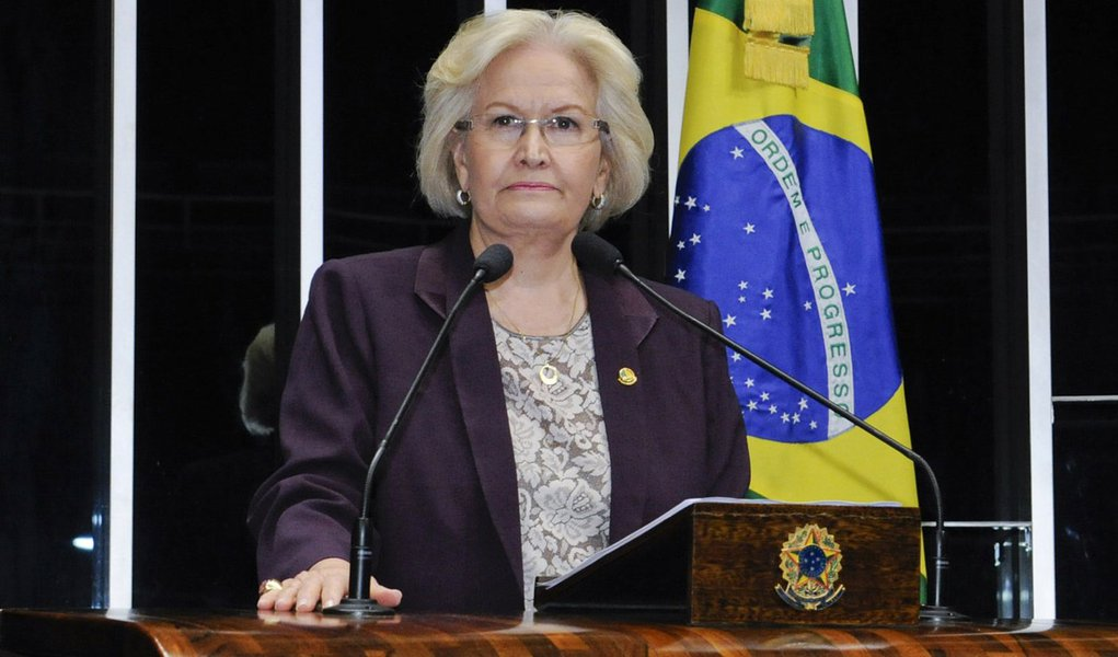 Senadora Ana Amélia (PP-RS) cobra respeito a direitos de pessoas com câncer