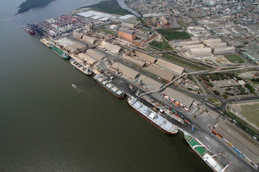 Balanço do ano traz saldo bastante positivo em melhorias em infraestrutura, Marítima e Terrestre, em tecnologia e em gerenciamento, nos dois portos. Foto: Appa