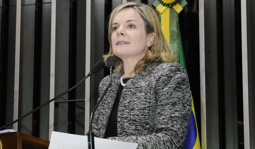 Senadora Gleisi Hoffmann (PT-PR) ressalta aumento de recursos para o Plano Safra