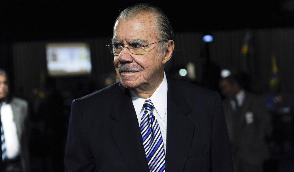 Sessão especial em comemoração aos 70 anos de criação do território federal do Amapá.  senador José Sarney (PMDB-AP).