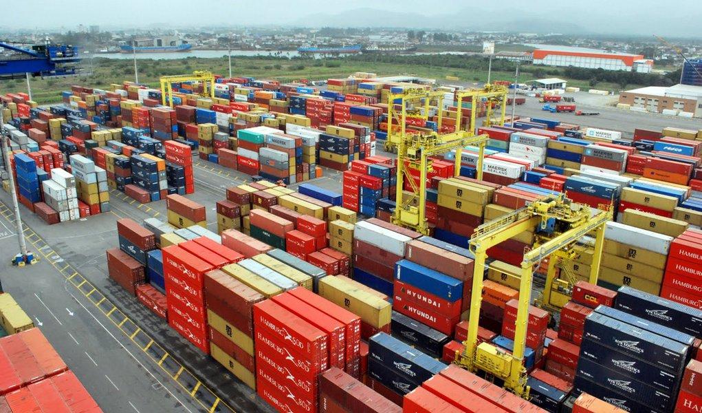 Terminal de conteiners Portonave - Navegantes/SC