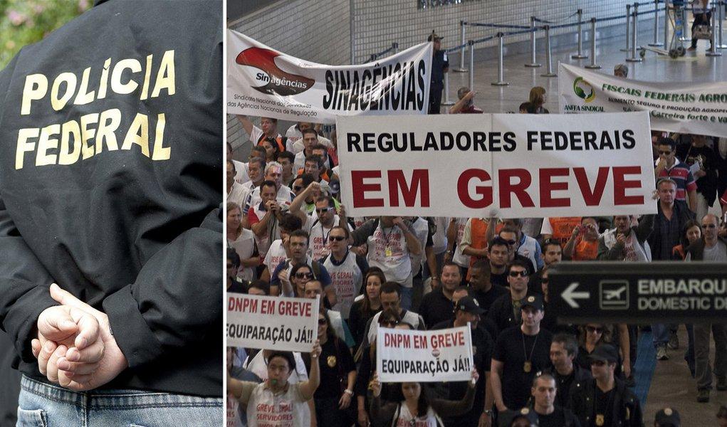 Delegados aderem por 24 horas à greve da PF