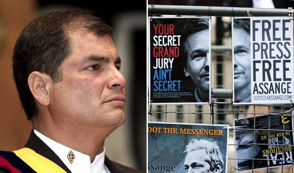Correa se diz cético em relação a negociação no caso Assange
