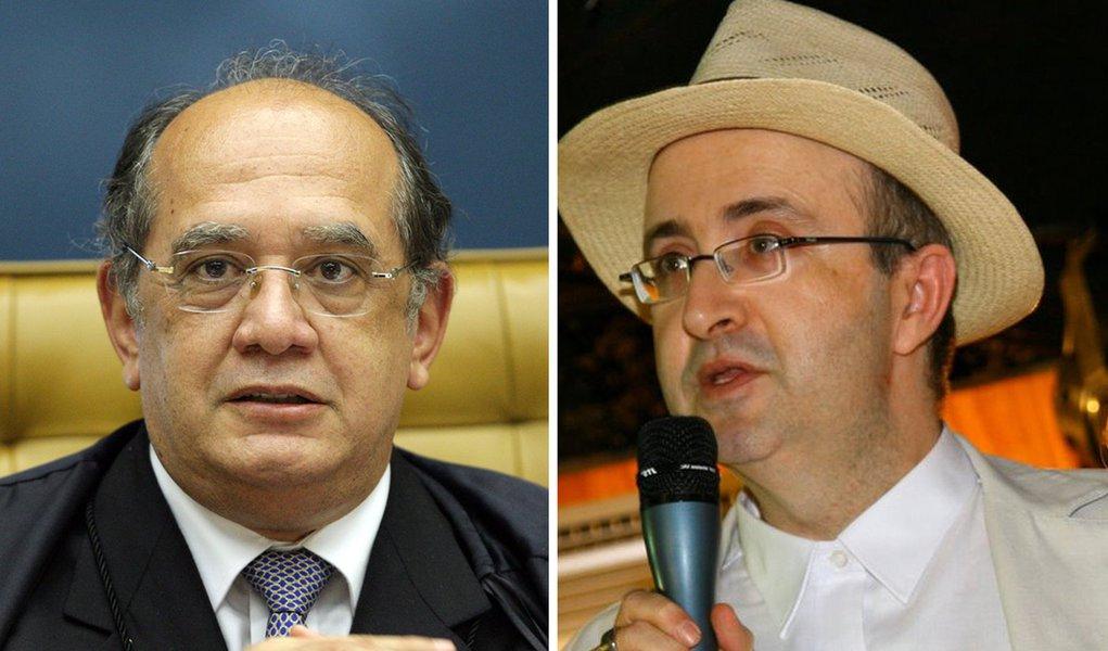 """Gilmar Mendes a Reinaldo: """"é coisa de bandidos"""""""