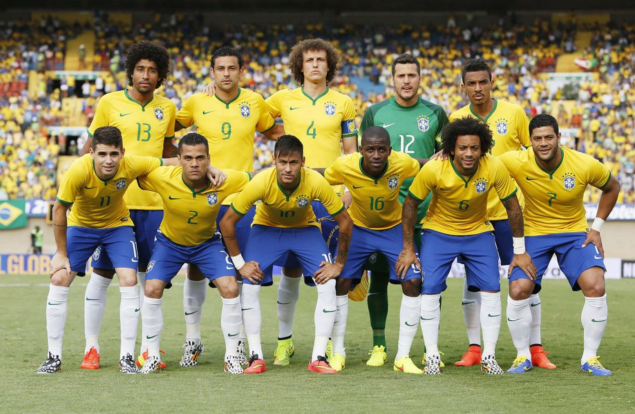 Seleção Brasileira enfrenta a seleção do Panamá no estádio Serra Douradaem Goiania dia 03 de junho de 2013. Foto: Rafael Ribeiro