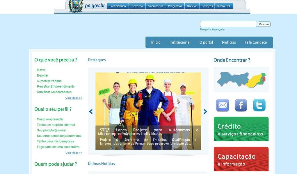 Governo lança portal voltado para o empreendedorismo