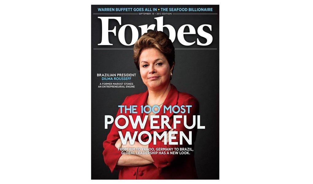 Dilma fica em 3º entre as mais poderosas da Forbes
