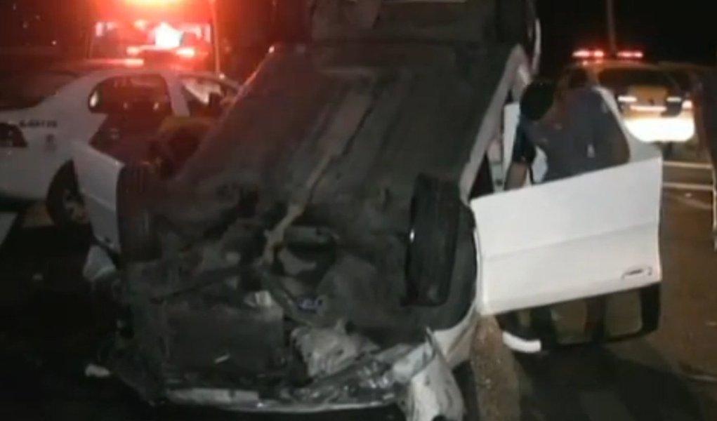 Sequestro termina com morte e acidente em São Paulo