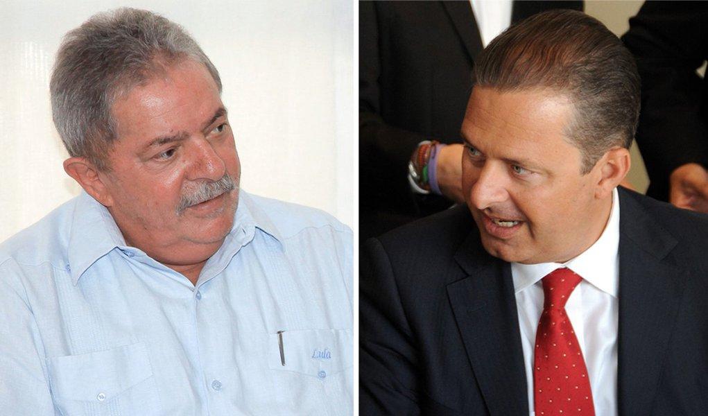 No horário eleitoral, Lula manda recado ao PSB de Campos