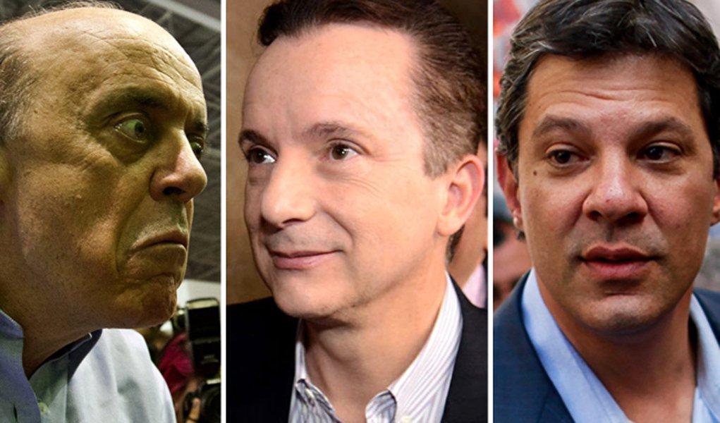 Russomano lidera e abre 4 pontos sobre José Serra