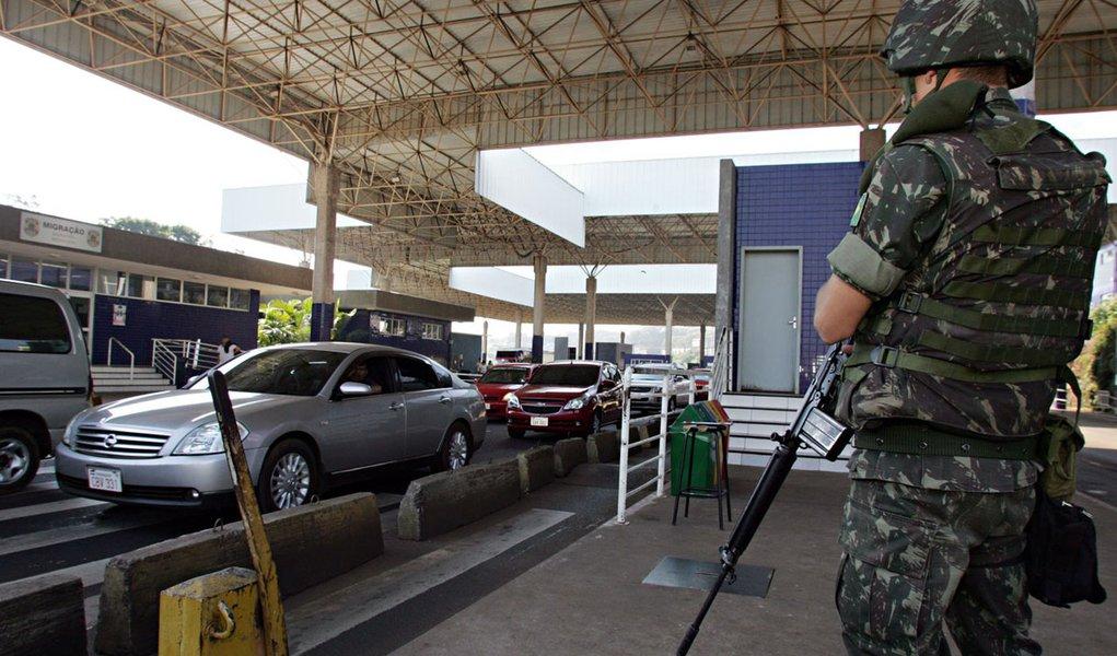Operação Ágata: 17 presos e 12 mil kg de explosivos apreendidos