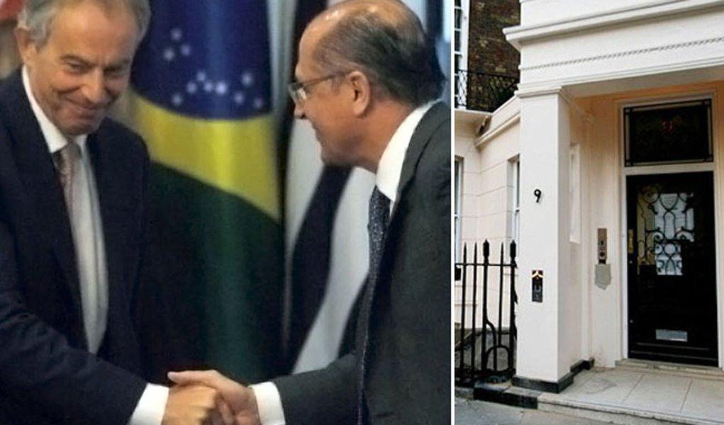 Alckmin ajuda Tony Blair a ficar ainda mais rico