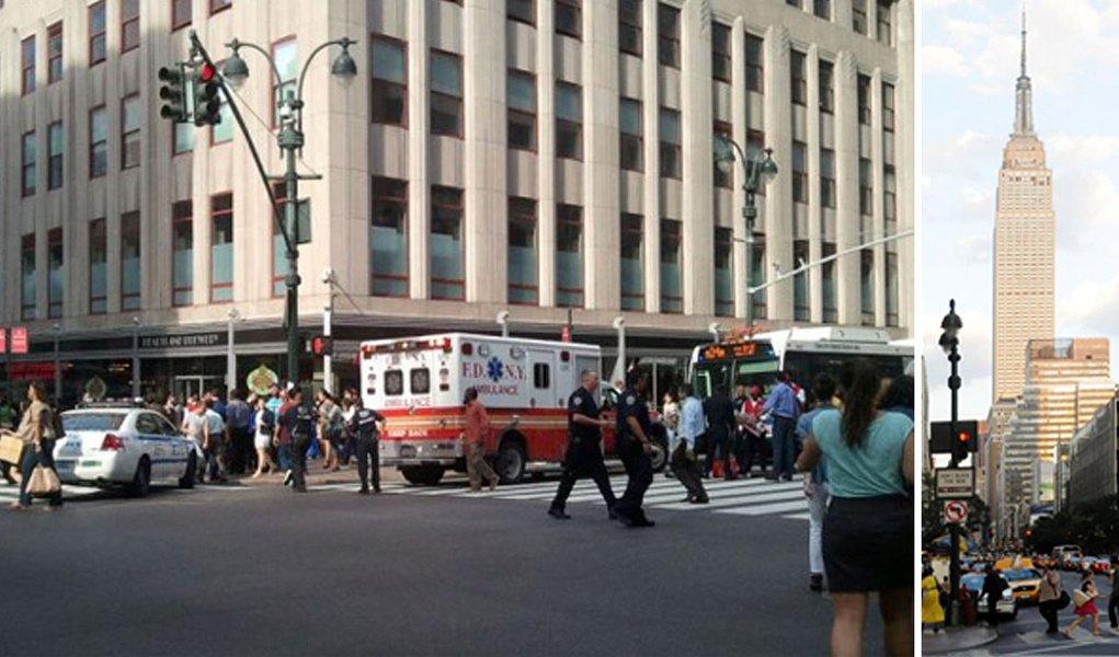Tiroteio deixa 10 baleados em NY; atirador morre