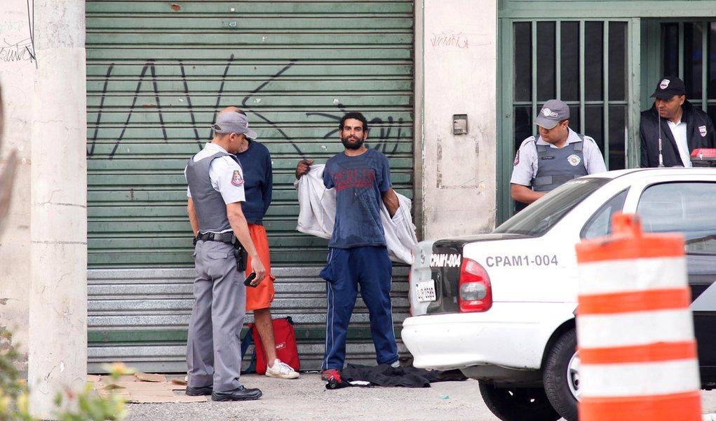 Justiça proíbe PM de atuar na Cracolândia, em São Paulo