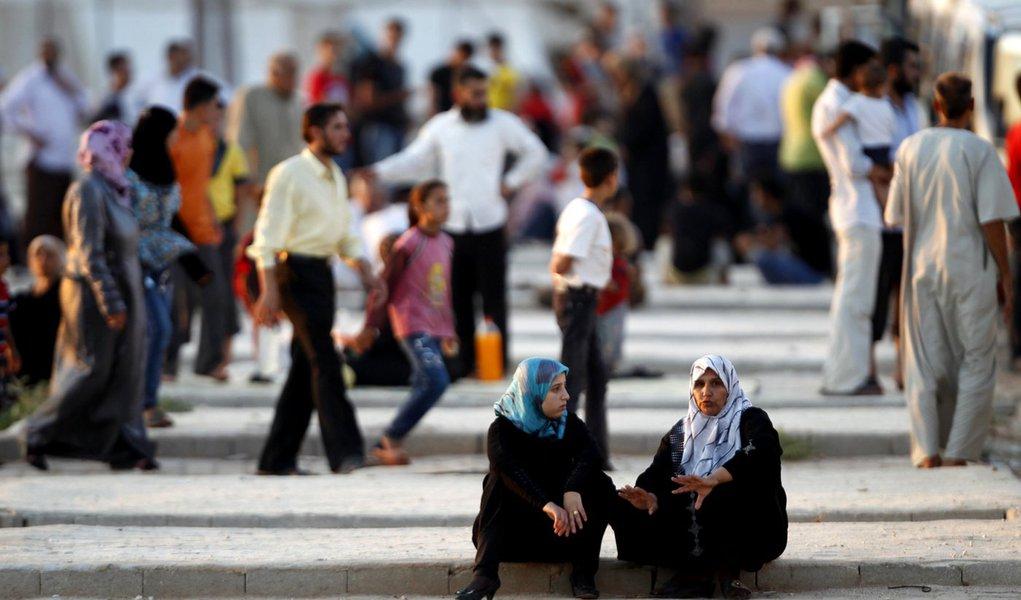 Guerra na Síria já gerou 150 mil refugiados
