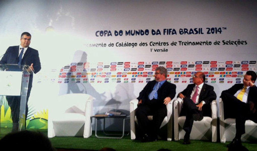 Comitê anuncia primeira lista de CTs para a Copa