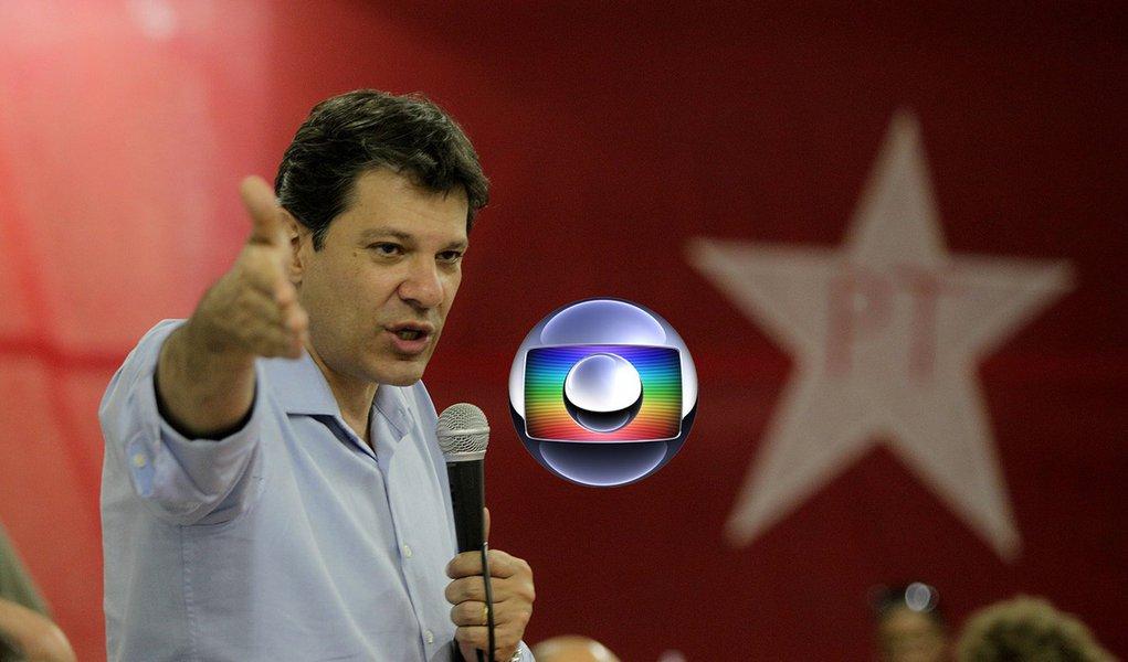 Globo cede e decide dar espaço diário a Haddad