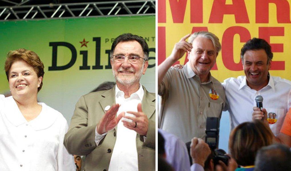 Se Patrus não tem Dilma, Lacerda passeia com Aécio