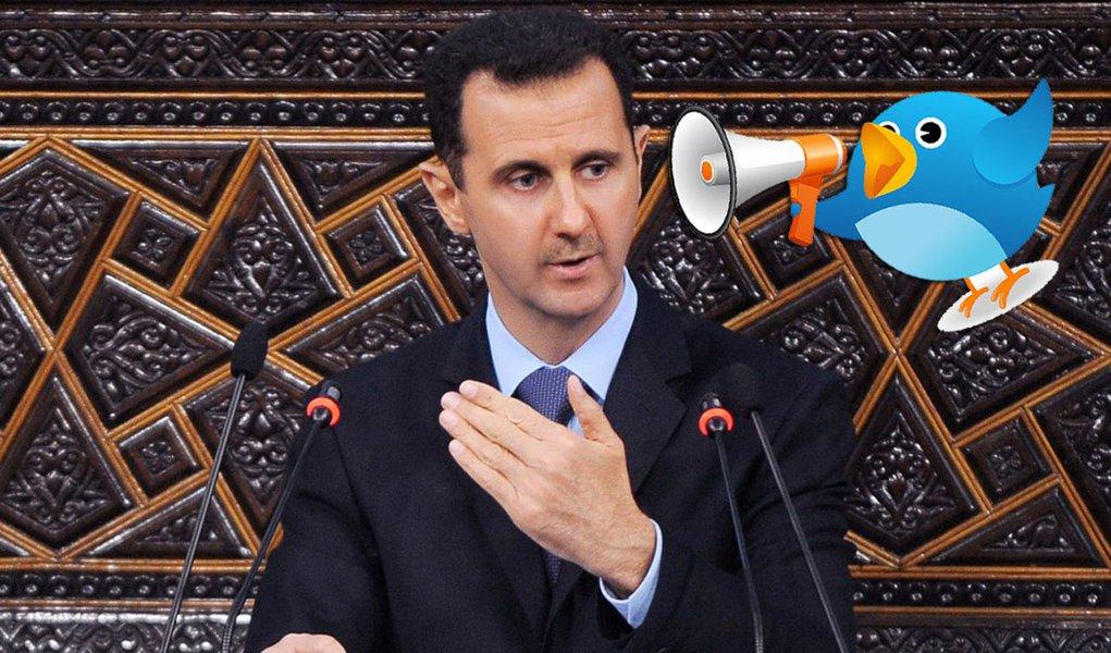 Boato de morte de Assad no Twitter eleva preço do petróleo