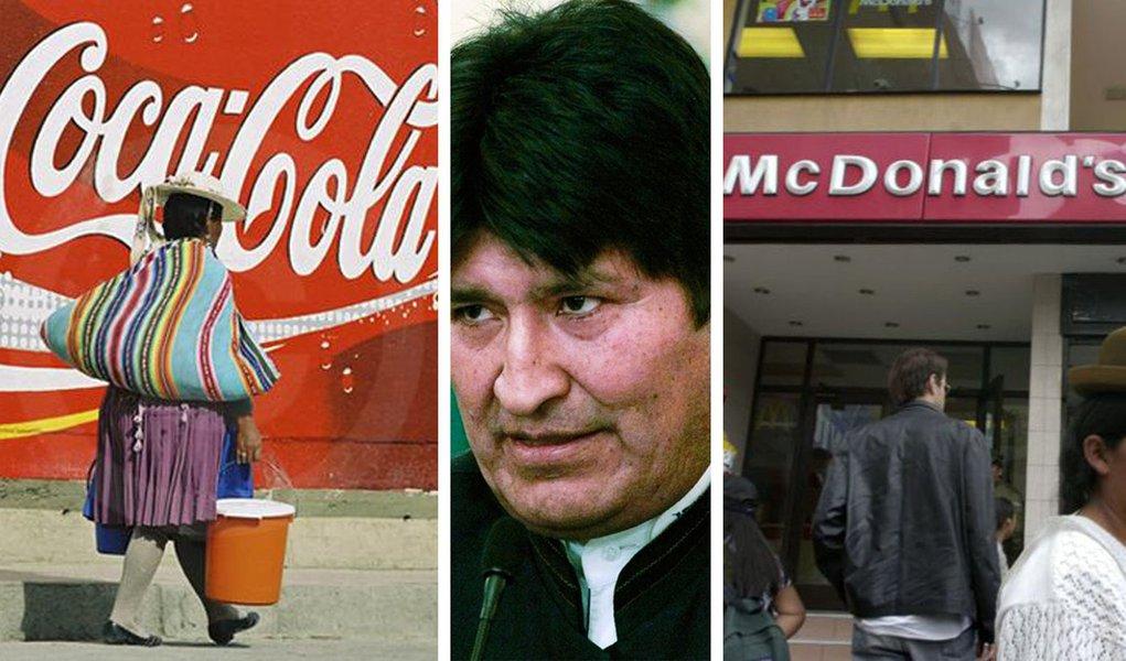 Bolívia bane Coca-Cola e vê falência do McDonald's