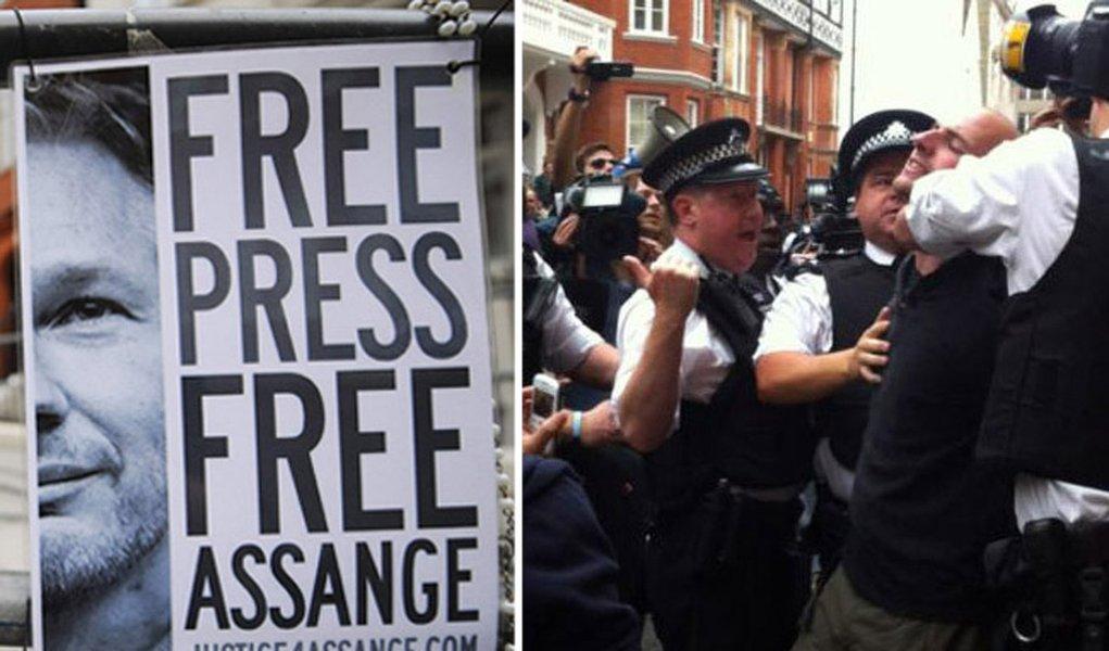 Inglaterra nega salvo conduto a Assange