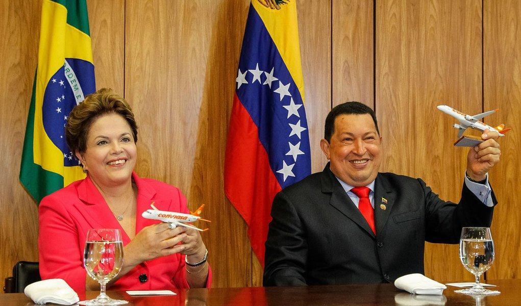 Agora é oficial: Hugo Chávez é nosso sócio