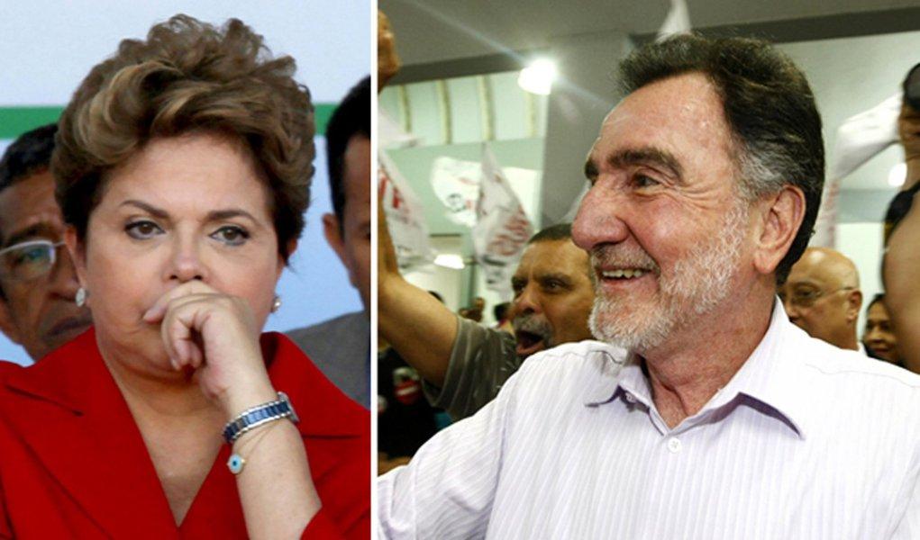 Dilma fora dos palanques