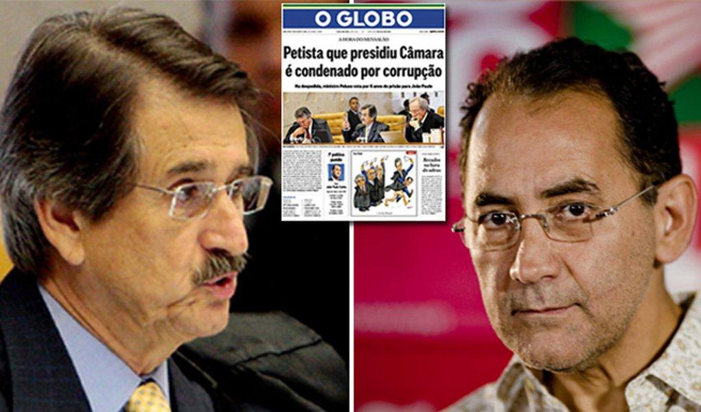 O Globo: só faltou chamar João Paulo de petralha