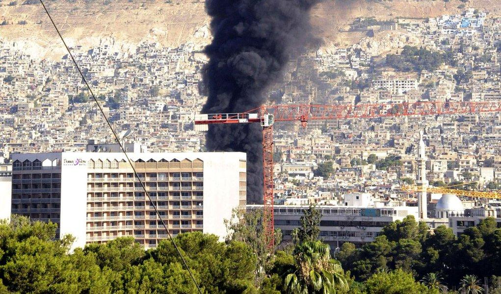 Exército Sírio Livre assume autoria de ataque em Damasco