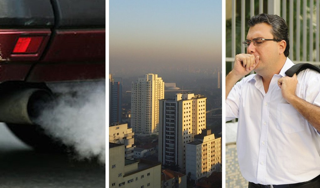Paulistano sofre no dia do combate à poluição