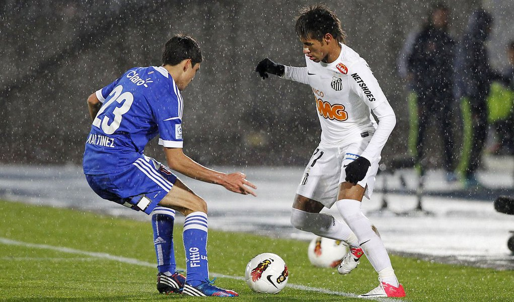 Santos empata com Universidad de Chile