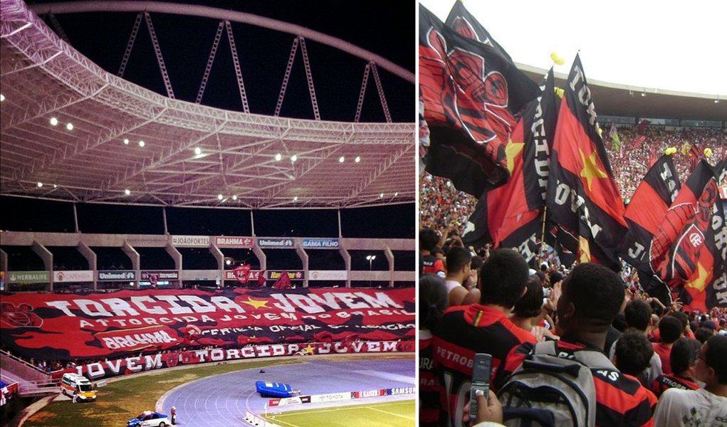 Justiça suspende Jovem Fla de frequentar estádios