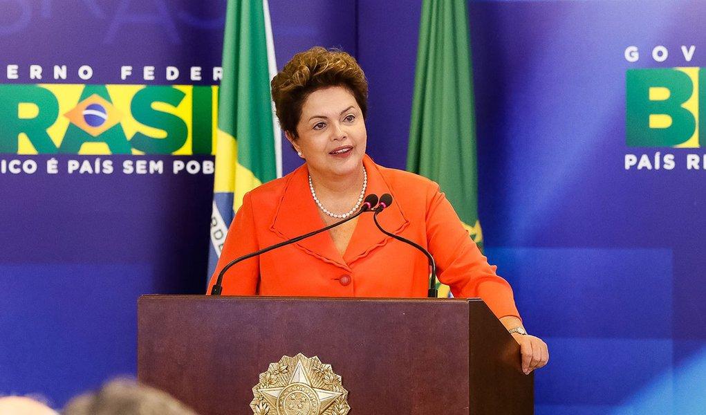Brasília - DF, 28/05/2014. Presidenta Dilma Rousseff durante cerimônia de anúncio de medidas de fomento à produção e ao consumo de biodiesel. Foto: Roberto Stuckert Filho/PR