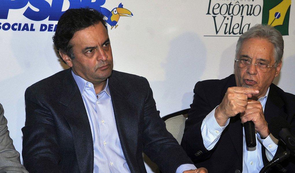 Brasília - O ex-presidente Fernando Henrique Cardoso participa de evento que reuniu os prefeitos eleitos do PSDB