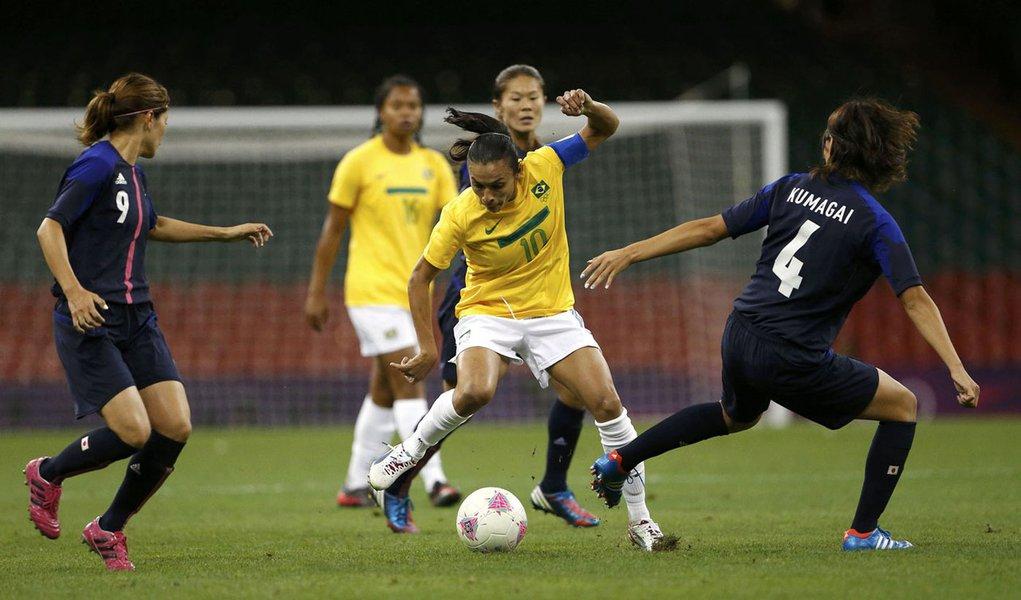 Japão faz 2 a 0 e elimina o Brasil da Olimpíada
