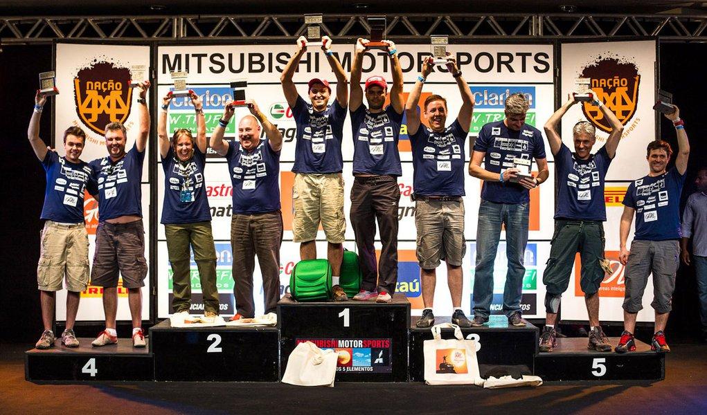 Calor do Cerrado esquenta o Mitsubishi Motorsports