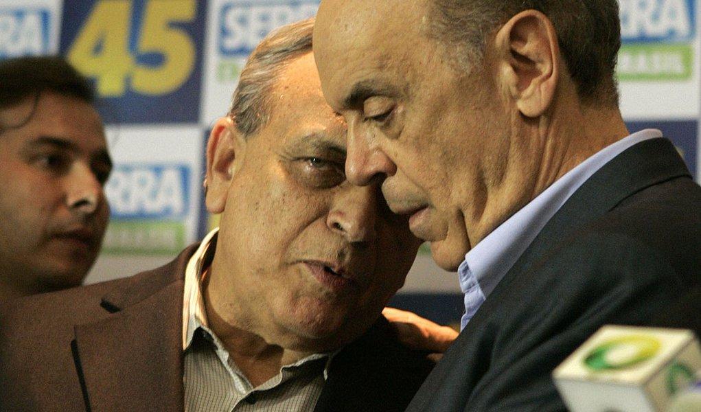 """""""Serra nunca disse que ia sair do partido (PSDB)"""""""