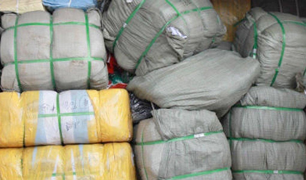 Carga com 28 toneladas de produtos falsificados é apreendida em Suape