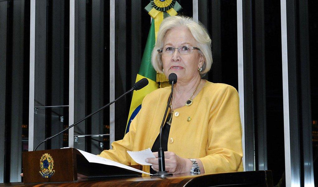 Senadora Ana Amélia (PP-RS) diz que o marco civil da internet precisa de um debate mais amplo no Plenário