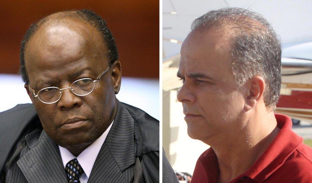 Barbosa vê corrupção ativa de Valério sobre Cunha