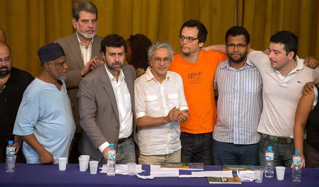 Artistas se reúnem no Rio em ato contra Feliciano