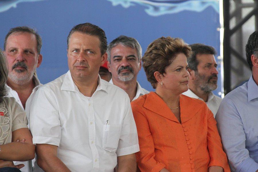 Dilma e Campos terão encontro tenso no Ceará