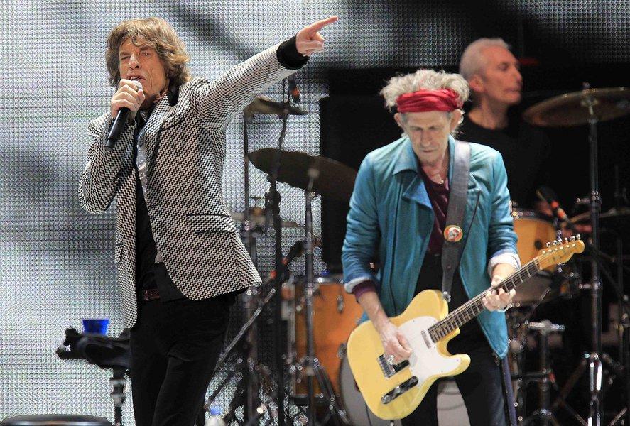 Rolling Stones lançam maior turnê em seis anos