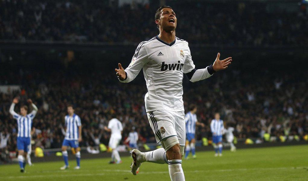 Cristiano Ronaldo volta a treinar no Real antes do duelo com o Bayern