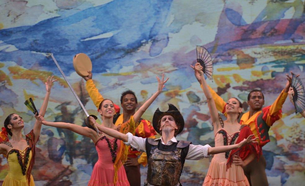 Escola Bolshoi apresenta Don Quixote em Brasília