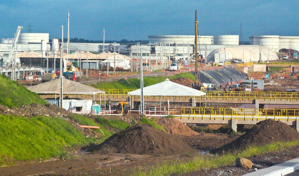 Situação normalizada na Refinaria Abreu e Lima